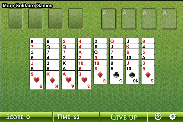 aarp spider solitaire